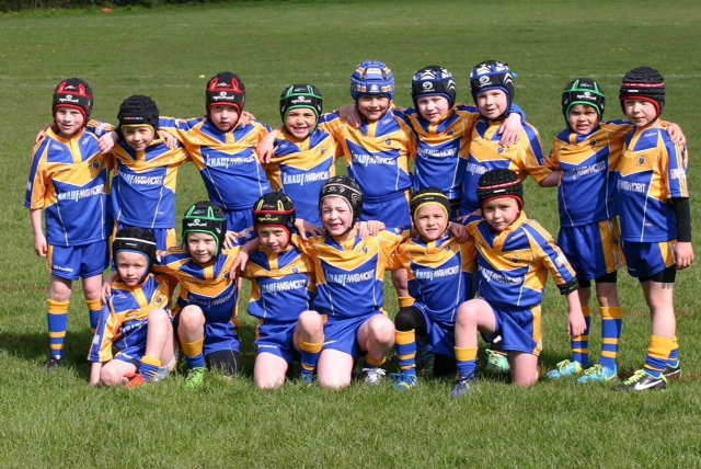 Optimum Fitness proudly sponsors – Crossfields Rugby U7's
